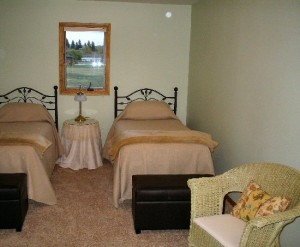 Bedroom at Mountain View Retreat in Deer Lodge, Montana