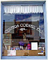 Quilter's Corner Etc in Deer Lodge, Montana - A full service quilting supply shop!
